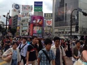 'This is Japan!' Shibuya Crossing Tokyo